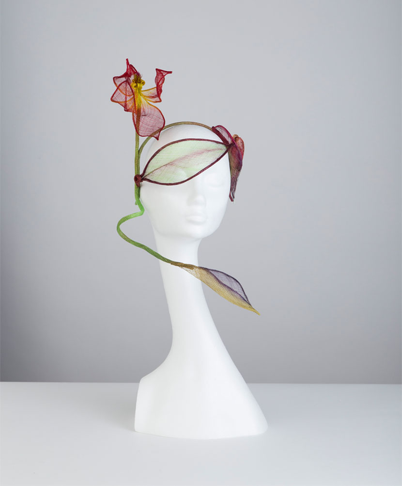 The Bowie headpiece - part of the Highstreet Collection