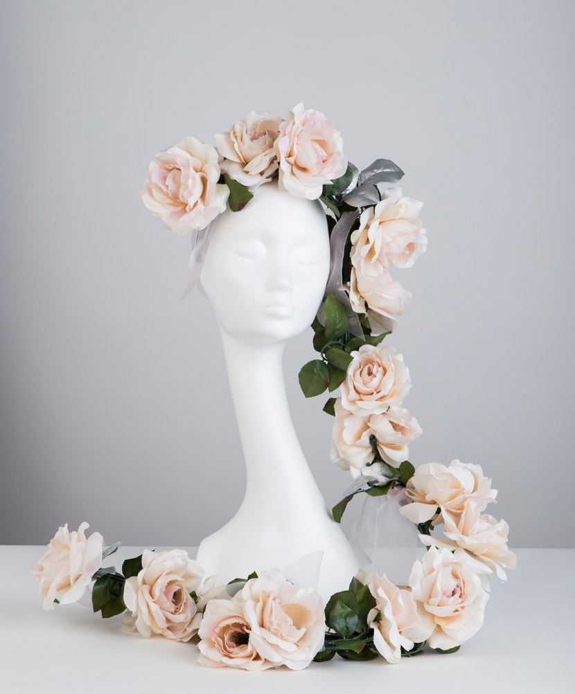 The Imogen headpiece - part of the Bridal Collection