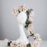 From the Sheila Morley Millinery Bridal Collection
